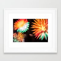philippines Framed Art Prints featuring Fireworks - Philippines 6 by David Johnson