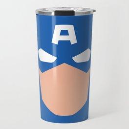 Superhero America Captain Travel Mug
