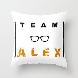 Team Alex Throw Pillow