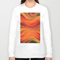 fabric Long Sleeve T-shirts featuring fabric by Cool-Sketch-Len