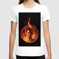 mockingjay T-shirts featuring THE MOCKINGJAY by John Aslarona