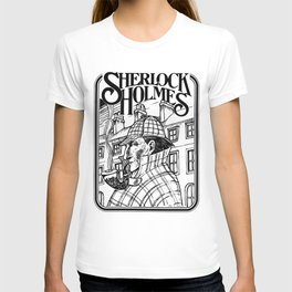 Sherlock Holmes /The Consulting Detective by Peter Melonas T-shirt
