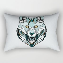Little Polar Fox Rectangular Pillow