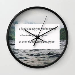 Find someone Wall Clock