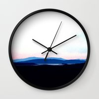 scotland Wall Clocks featuring Landscape, Scotland by seb mcnulty