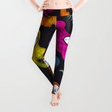 colorful hybrid witches Leggings