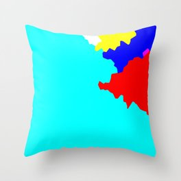 Crystallize 10 Throw Pillow