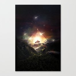 The Glass Mountain Canvas Print