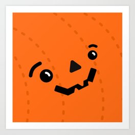Jack o' Pumpkin Art Print