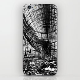 Airship under construction iPhone Skin