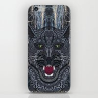 panther iPhone & iPod Skins featuring Panther by ArtLovePassion