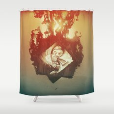 Claustrophobia Shower Curtain