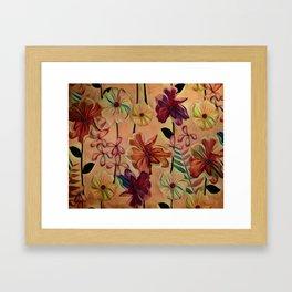 From the Garden Framed Art Print