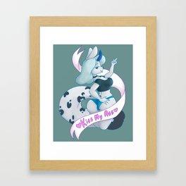 Big Ole Smoocherooni Framed Art Print