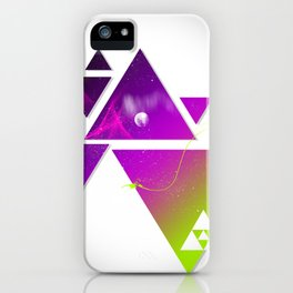 Triangulation iPhone Case