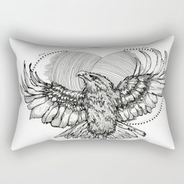 The Eagle Rectangular Pillow