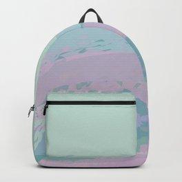Ocean Swoosh Mint Waves Backpack