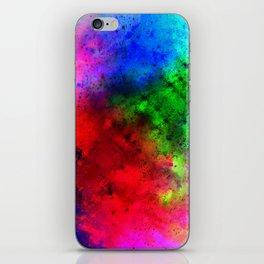 Explosive colors iPhone Skin