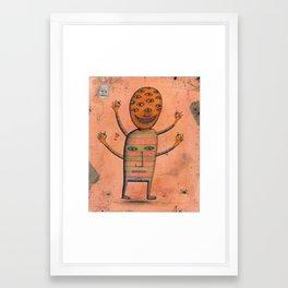 I, Monster Framed Art Print