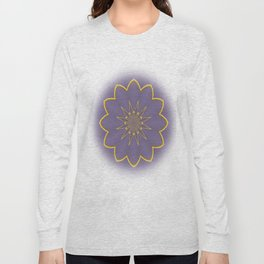 Lavender and Gold  Long Sleeve T-shirt