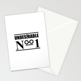 HP Undesirable No. 1 II Stationery Cards