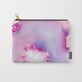 Agate - pink violet Carry-All Pouch