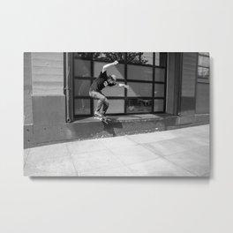 Jeff Shreds Metal Print