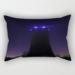 Nuclear Cooling Tower Rectangular Pillow