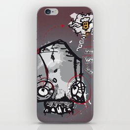 Skull beer iPhone Skin