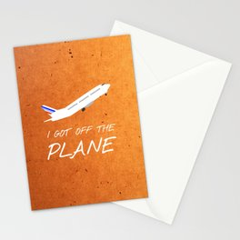 Friends 20th - Plane Stationery Cards