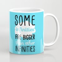 tfios Mugs featuring Some Infinities - The Fault In Our Stars by Tangerine-Tane