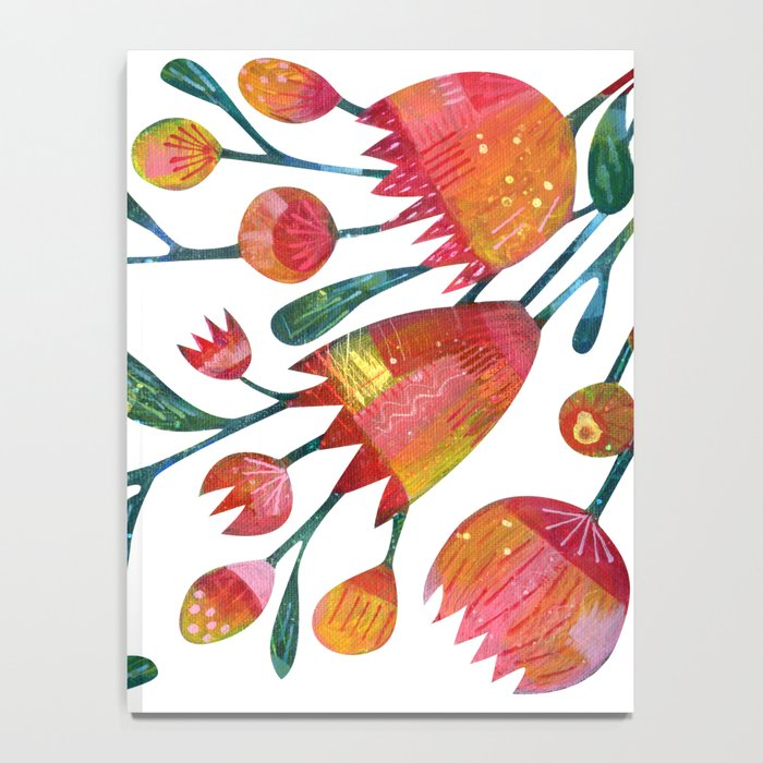 Buds and Flowers Notebook