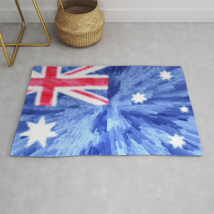 Flag Of Australia Rug By Drpen Society6