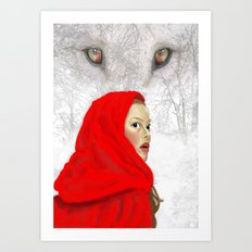 Whose there? Art Print