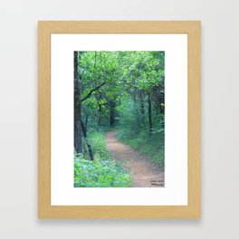 Quiet Escape Framed Art Print