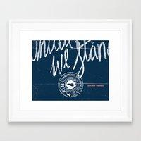 kentucky Framed Art Prints featuring Kentucky by Nate Utesch
