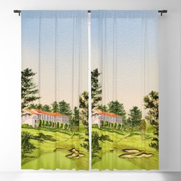 The Olympic Golf Course 18th Hole Blackout Curtain