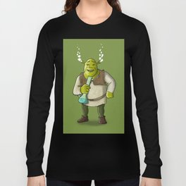 Ogre Smoking Long Sleeve T-shirt