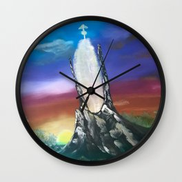 NeverEnding Story, Tower - FAN ART Wall Clock