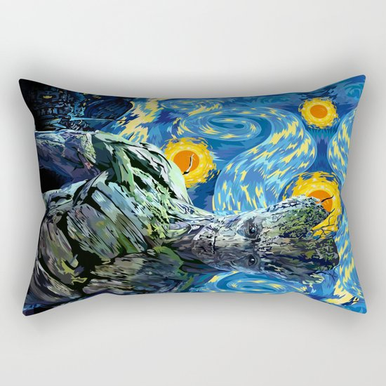 Guardian of the starry night iPhone 4 4s 5 5c 6, pillow case, mugs and tshirt Rectangular Pillow
