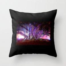 Tree Illuminated Throw Pillow