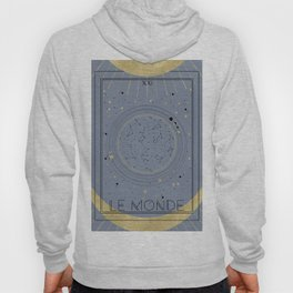 The World or Le Monde Tarot Hoody