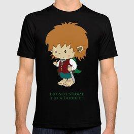 I'm not short, I'm a hobbit T-shirt