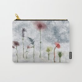 Floral Uproar Watercolor Carry-All Pouch