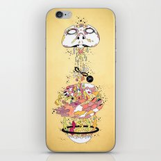 To Live iPhone & iPod Skin