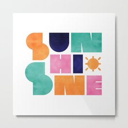 Sunshine 02 Metal Print