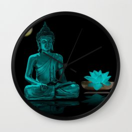 Buddha Yoga Style Wall Clock