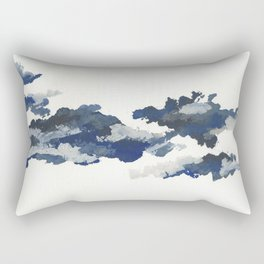 clouds_april Rectangular Pillow