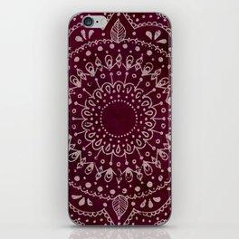 Wine Mandala iPhone Skin