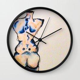 Half a Woman no.2 Wall Clock